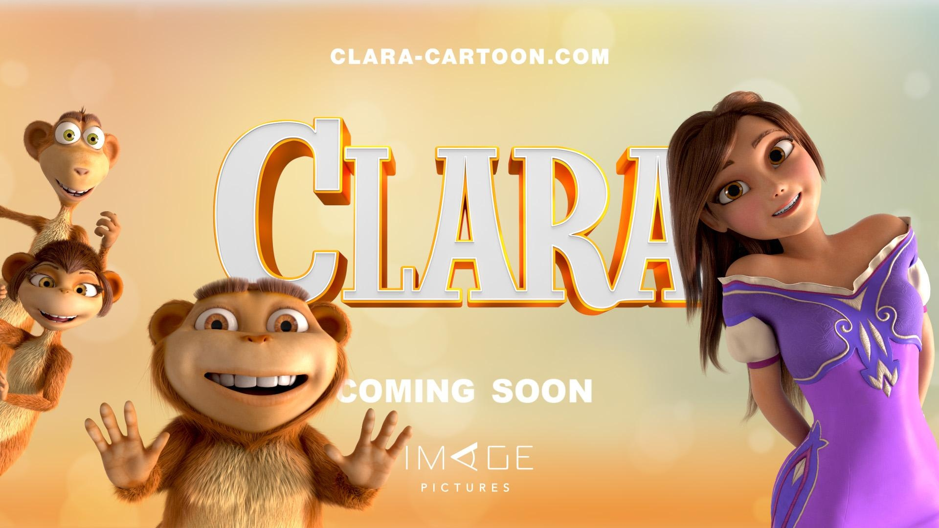 """Clara"" is an animated family adventure comedy movie."