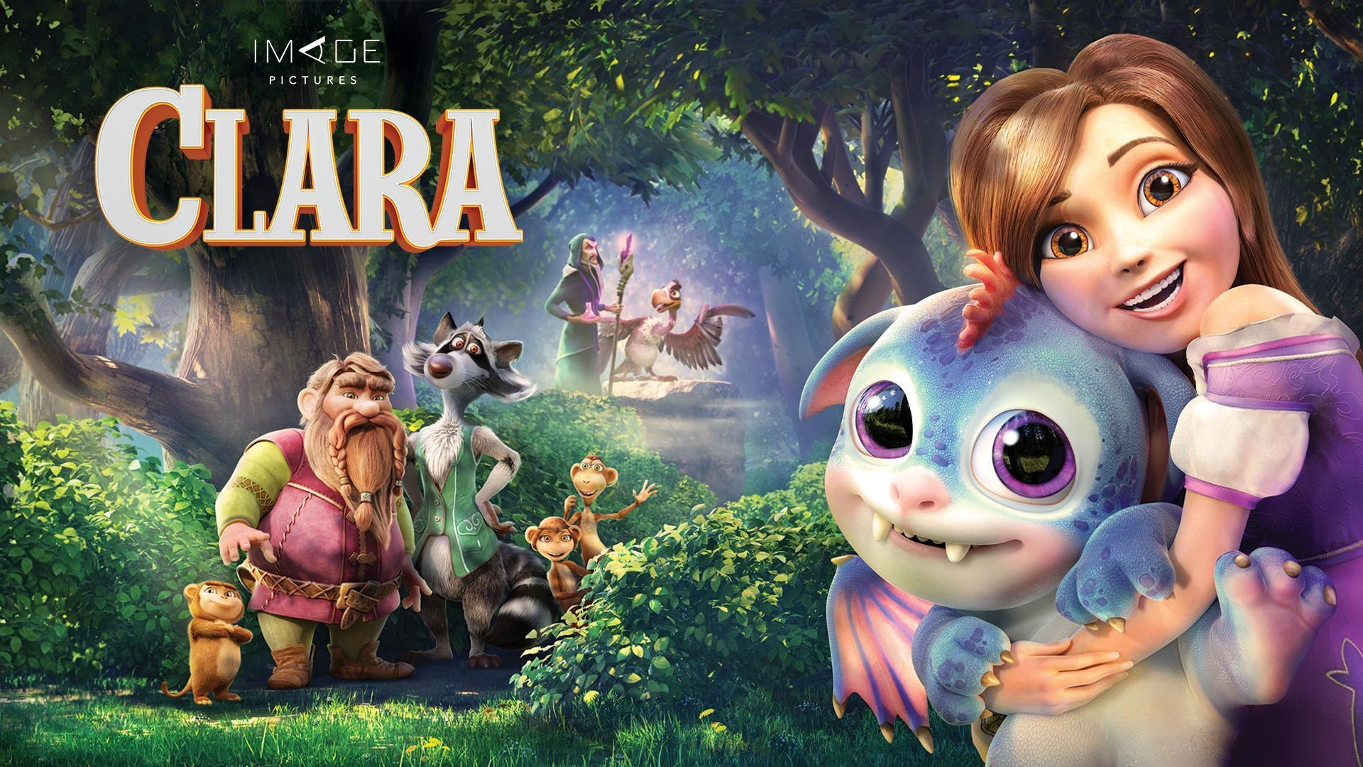 Clara Is An Animated Family Adventure Comedy Movie